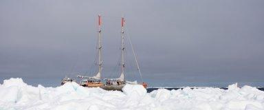 Tara behind ice  ©François Aurat  Fondation Tara Ocean.jpg